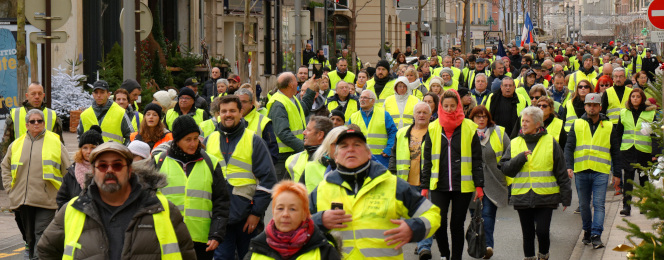 Gilets Jaunes, contestation de masse